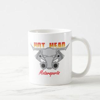 Hot Head Motorsports Logo Basic White Mug