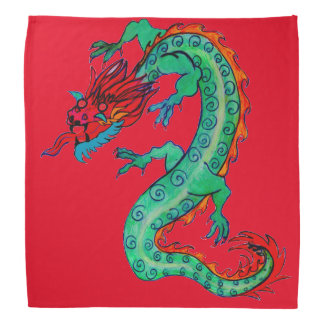 Hot-Headed Dragon on Bandana