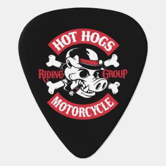 Hot Hogs™ Classic Black Guitar Picks