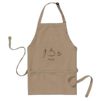 hot hot hot! adult apron