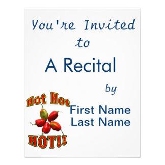 Hot Hot HOT Star Habanero Peppers Invite