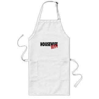 Hot Housewife (Blk) Long Apron