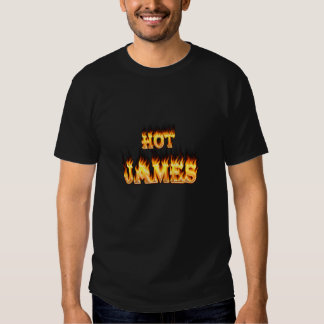 Hot James fire and red marble heart Shirts