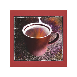 Hot Java Time Stretched Canvas Print