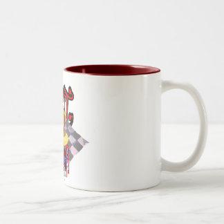 hot java Two-Tone coffee mug