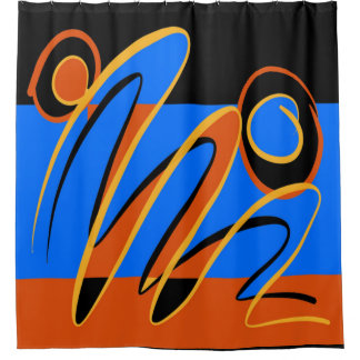 Hot Jazz 2 Shower Curtain