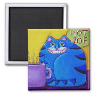 hot joe cat magnet