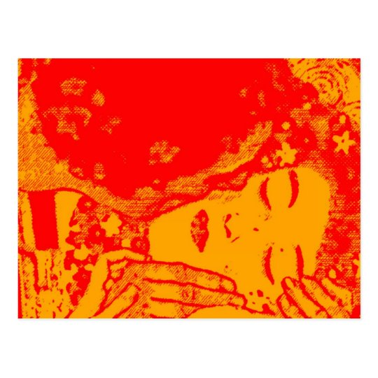 Hot Kiss Postcard