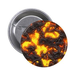 Hot Lava 6 Cm Round Badge