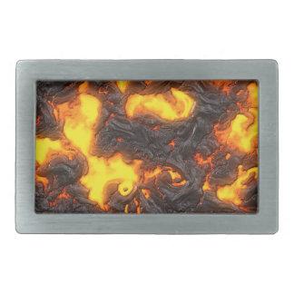Hot Lava Belt Buckle