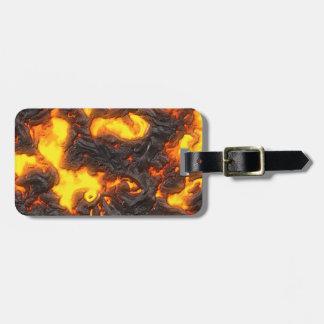 Hot Lava Luggage Tags