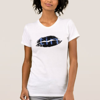 Hot Lips Ladies AA Cap Sleeve - Customized T-Shirt
