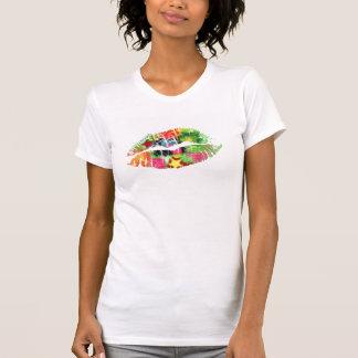 Hot Lips Ladies AA Cap Sleeve Tee Shirt