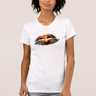 Hot Lips Ladies AA Cap Sleeve T Shirts