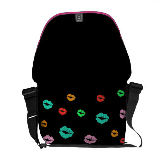 Hot Lips Courier Bag