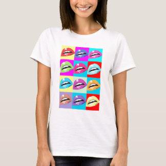 hot lips pop art T-Shirt