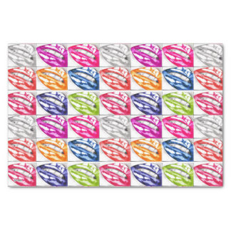 Hot Lips Pop Art Tissue Paper