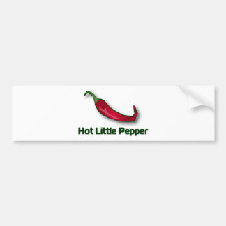 Hot Little Pepper Bumper Sticker