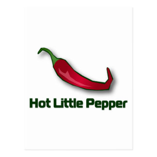 Hot Little Pepper Postcard