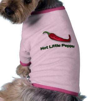 Hot Little Pepper Ringer Dog Shirt