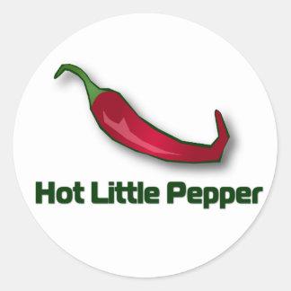 Hot Little Pepper Round Sticker