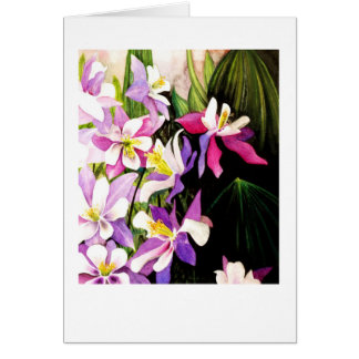 Hot magnolia card