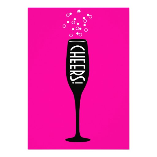 Hot Mama 30th Birthday Invitation - Cheers!