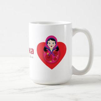 Hot Mama Russian Adoption Gift Coffee Mug