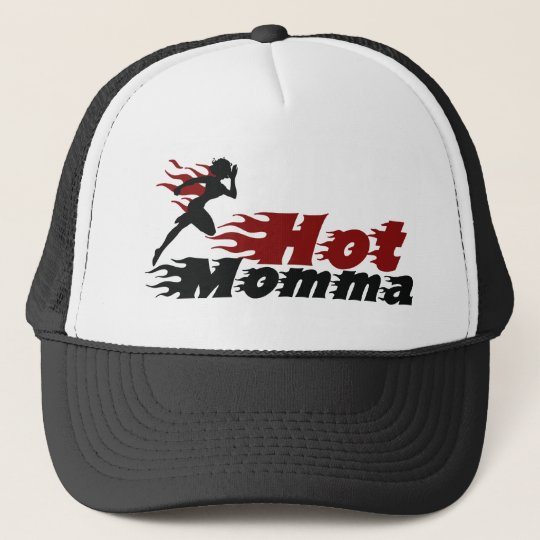 Hot Mama Trucker Hat