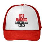 Hot Married Basketball Coach Mesh Hats