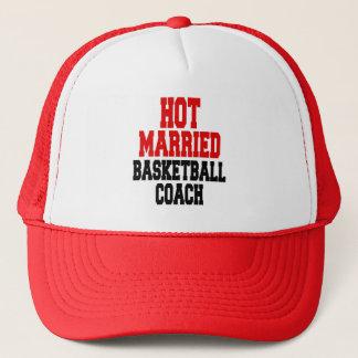 Hot Married Basketball Coach Trucker Hat