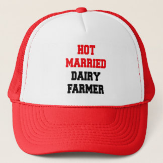 Hot Married Dairy Farmer Trucker Hat