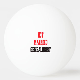 Hot Married Genealogist Ping Pong Ball