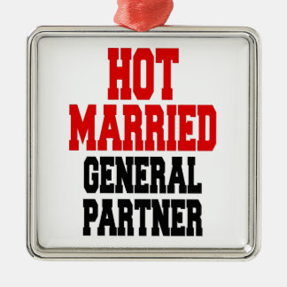 Hot Married General Partner Christmas Ornament