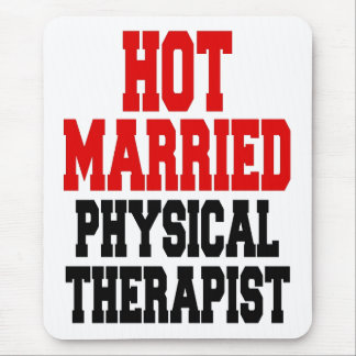 Hot Married Physical Therapist Mouse Mat