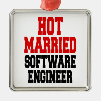 Hot Married Software Engineer Christmas Ornament