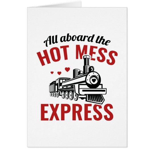 Hot Mess Express Card