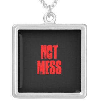 """HOT MESS"" necklace"