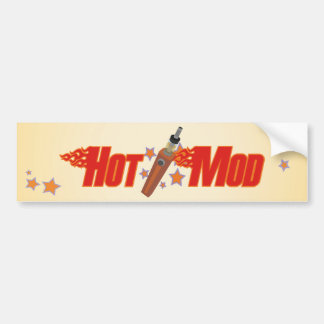 Hot Mod Bumper Sticker