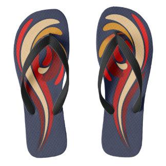 Hot Modern Classic Flourish Flip Flops