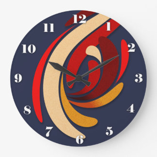 Hot Modern Classic Flourish Large Clock