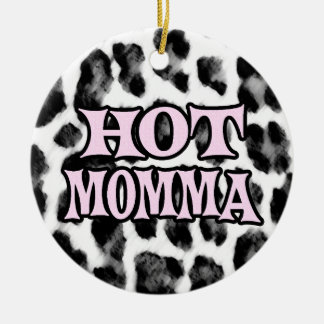 Hot Momma Christmas Ornament