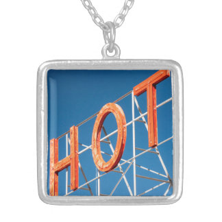 """Hot"" necklace"