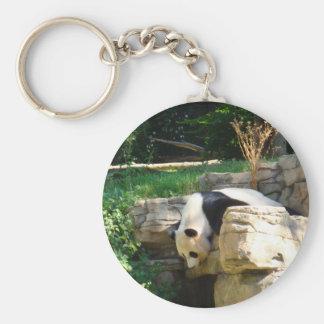 Hot Panda Basic Round Button Key Ring