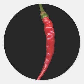 Hot Pepper 2 Round Sticker