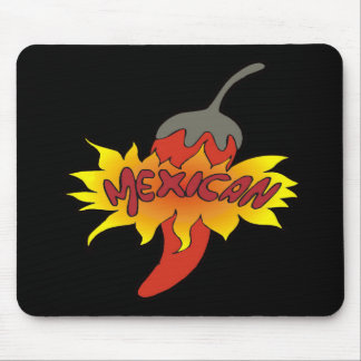 Hot Pepper Cinco de Mayo T-shirts and Gifts Mouse Pad