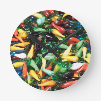 Hot Pepper Clock, Chili Pepper, Cayenne Jalopeno