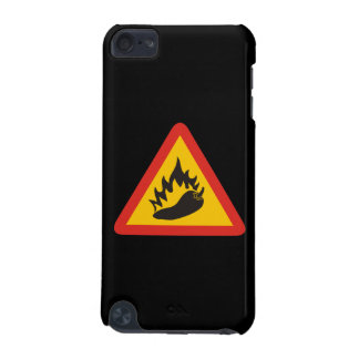 Hot pepper danger sign iPod touch 5G cases
