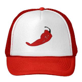 hot pepper mesh hat