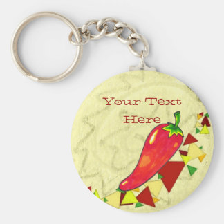 Hot Pepper Keychain